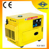 Huahe 5KW Silence Diesel Generator, single phase generator, made in China