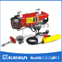 Electric Wire Rope Hoist with up and down limit device PA200~990