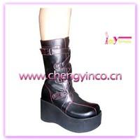 "3""1/2 Inch heel funky shoes"