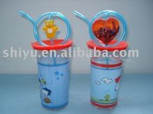 Cartoon drinking cups