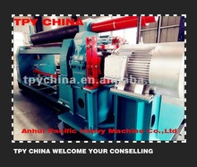 Manual steel plate roll forming machine