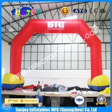 Durable waterproof outdoor event Inflatable entrance advertising arch