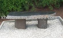 granite park stone bench