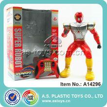 Super Plastic RC toy robot