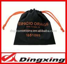 black drawstring bag /mini polyester Drawstring bag