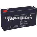 Gb6-1.7 recarregável selada de chumbo ácido de bateria volt 6 ups bateria de chumbo placas de chumbo selada recarregável de ácido de bateria de armazenamento