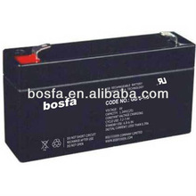 GB6-1.7 rechargeable sealed lead acid battery 6 volt UPS battery lead plates rechargeable sealed lead acid storage battery