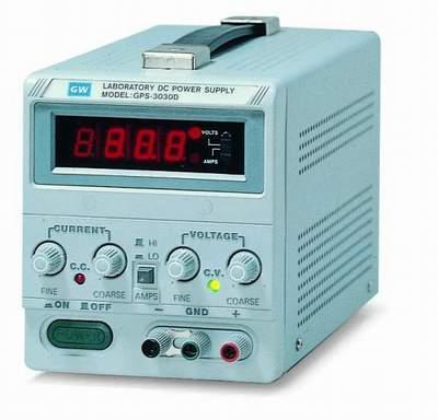 Gwinstek GPS-3030D laboratorio fuente de alimentación DC