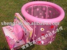 Adult inflatable plastic swimming pool