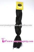 Synthetic Yaki braids, kinky jumbo hair for braiding