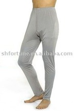 100% men's knitted silk long johns