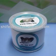 400g SHIFEI economical tea tree depilatory strip hot wax