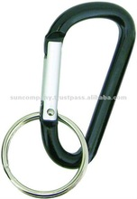 KeyLINQ #715 aluminum carabiner, Small, with 25 mm splitring