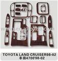 Ty80066-wooden tablero de instrumentos para Toyota Land Cruiser 98 - 02