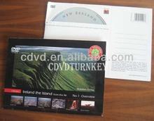CD gift cardboard wallet package