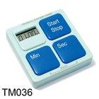 Square Button Timer, Mini size timers TM036-0