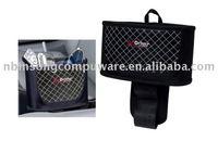 black Polyester1680D fabric car organizer seat side pocket key pouch