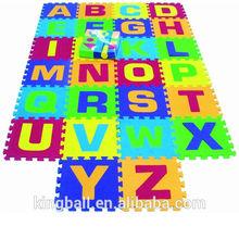 Alphabet A-Z + 50 blocks EVA toy floor mat