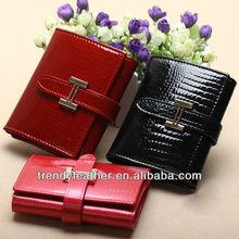 luxury cowhide wallet leather