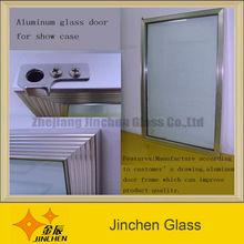 stainless steel frame door for display cooler