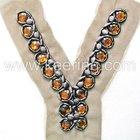 Rayon Collar, Acrylic Neckline, Collar Motif