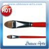 Filbert watercolor brush