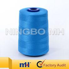 100% hilados de poliéster para el hilo de coser