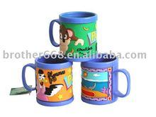Wholesale No-phthalate Kid magic PVC Cup Mug advertisting 2012 christmas(BZ-M001)