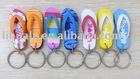 EVA flip-flops shoe key chain