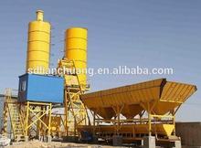 HZS50 Skip hopper type concrete batching plant export to Pakistan