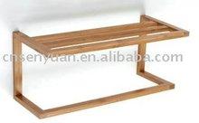 2012 Wall mount 2 tire bamboo rack(LFGB, FSC,PCP)