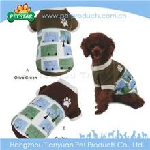 Fashionable designs 100% cotton dog clothes