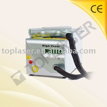 Hot top laser tattoo removal machine pigment remove price