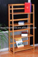 De bambu estante para livros