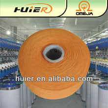 open end recycled cotton polyester yarn for rope with hair