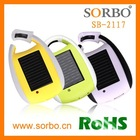 New Mobile Solar Charger with Carabiner