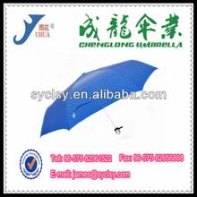 "21""*8K Auto Open And Close Fiberglass Spring 3 Fold Umbrella"