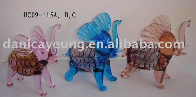 유리제 코끼리