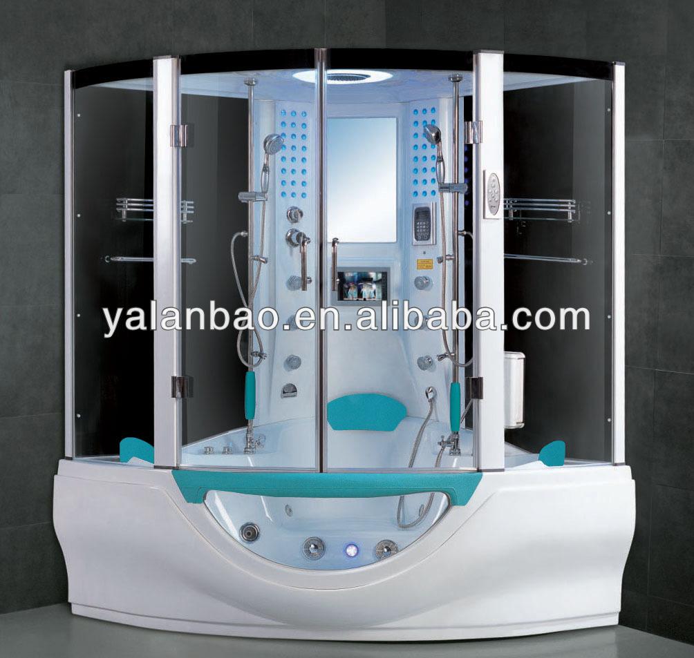 Grau Dampf-Duschkabine mit wellness-badewanne für bad verwenden ...
