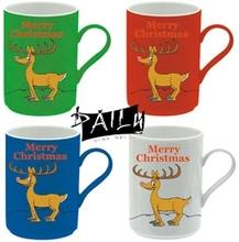 11oz colorful christmas mug