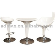 Table & Swivel Saddle Bar / Pub Seat Chair Stool Furniture for Event Promotion / Exhibition / Trade Show
