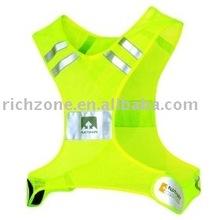 Streak Reflective Vest with customer logos meeting EN471, ANSI/ISEA 107-2010 Class 2