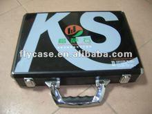 2013 aluminium stone sample show case ,quartz sample display case wih locks and stronge handle ,inner special design for samples