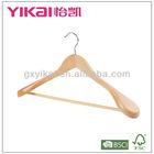 Wooden Coat Hanger for Jacket suit display natural color