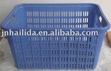 large blue vegetable plastic crate V-002