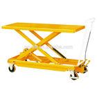 Manual Mobile Large Lift Table