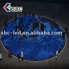 led dancing floor display for bar