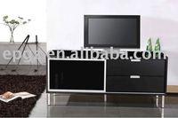 wooden TV rack