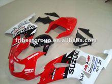 fairing factory Motorcycle ABS fairing kit for GSXR750 GSXR600 GSX-R750 GSX-R600 2006 2007 06-07 WHITE&RED