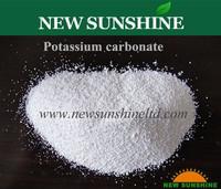 White powder Potassium carbonate 99% min.